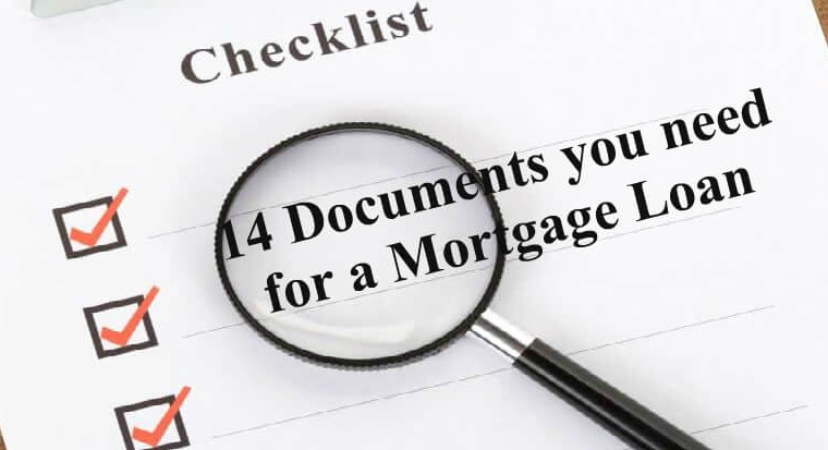 Mortgage Loan Documents Checklist
