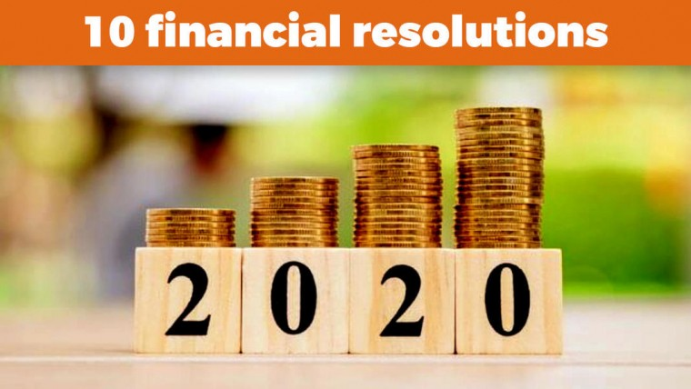 10 Financial Resolutions for 2020!